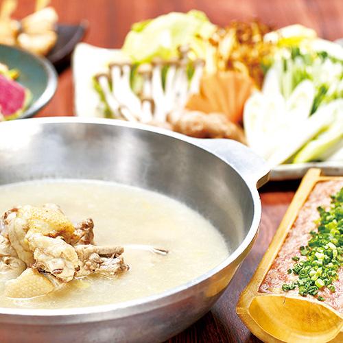 伊達鶏の水炊きコース<全8品>
