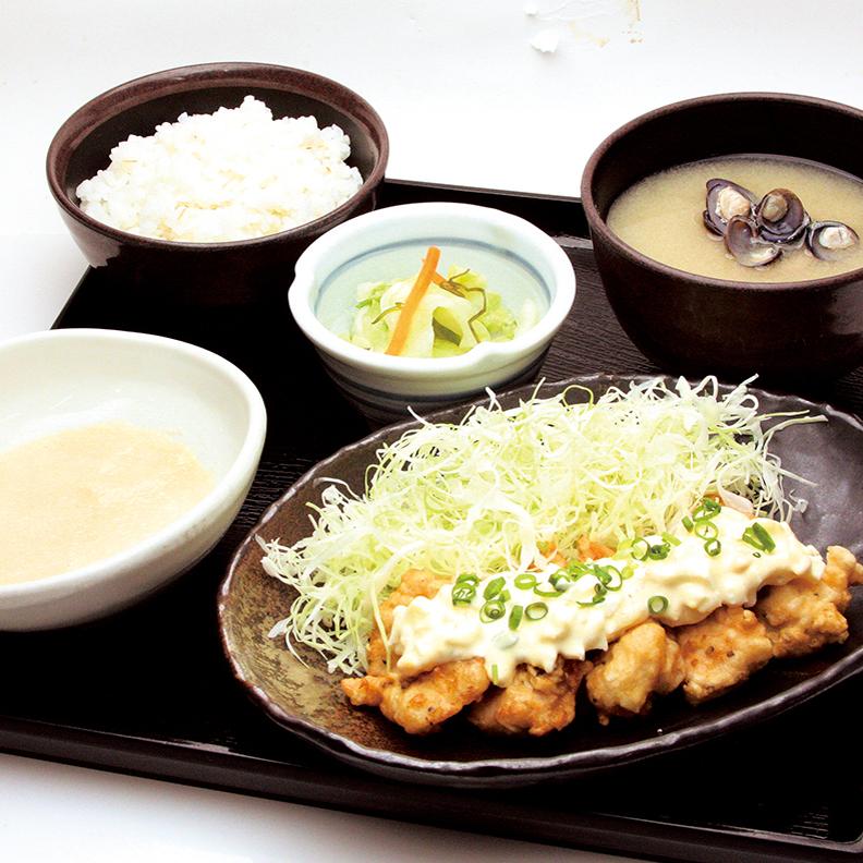 伊達鶏使用 鶏南蛮タルタル定食